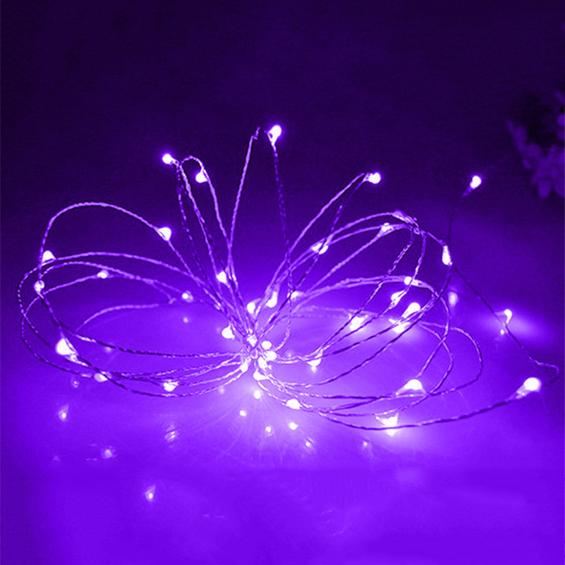 2Meter led copper string AA Battery Powered Decoration waterproof Copper Wire Fairy String Lights Lamp for Holiday Wedding Party