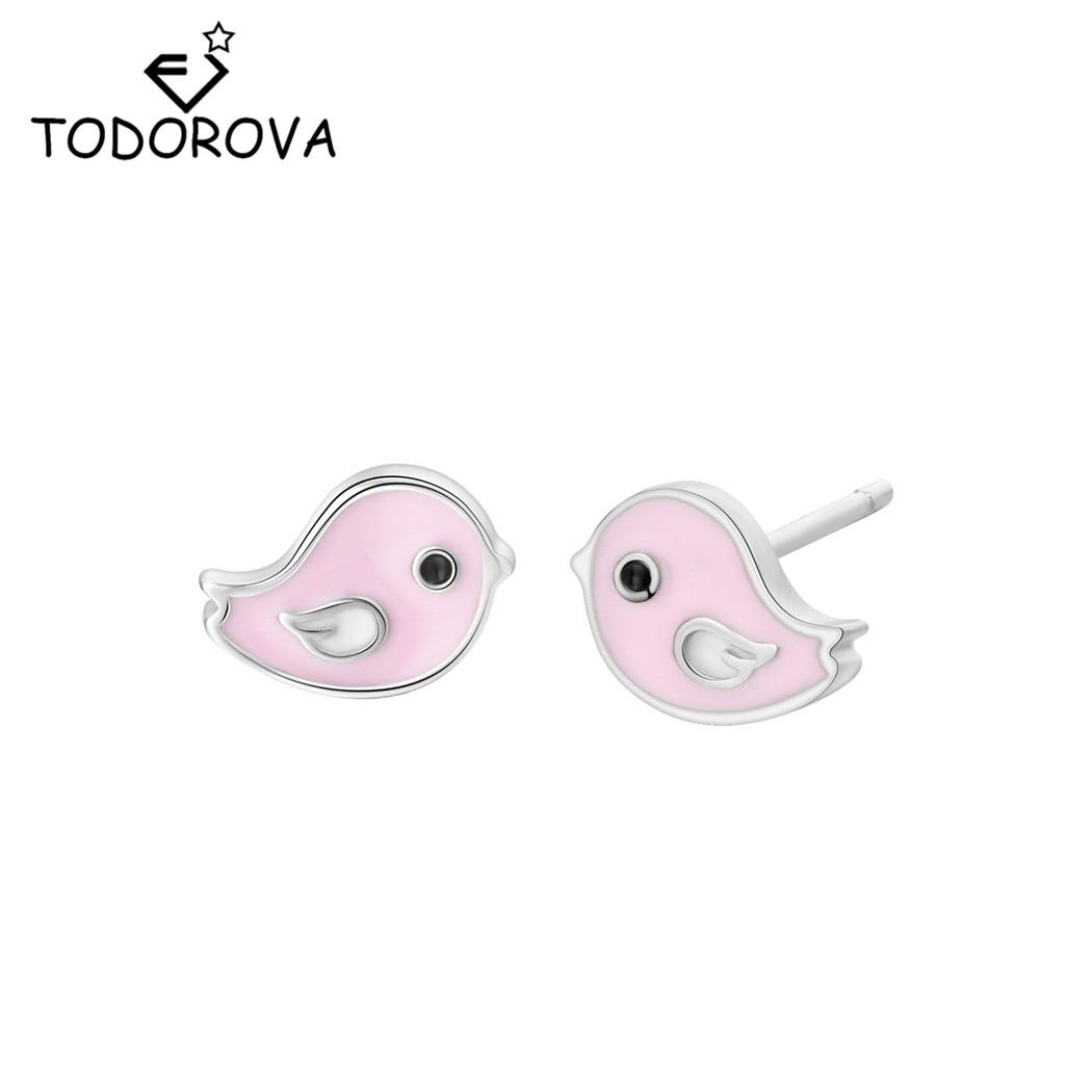 Hypoallergenic Cat Stud Earrings for Little Girls Kids Cute Enamel Kitty Earrings Cat Lover Gifts