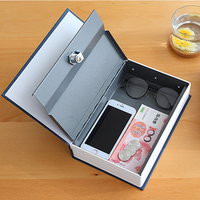 Cash jewelry box Portable Home book safes Pistol boxes safes Passwords type Key type Birthday Gifts New Year Gifts Medium