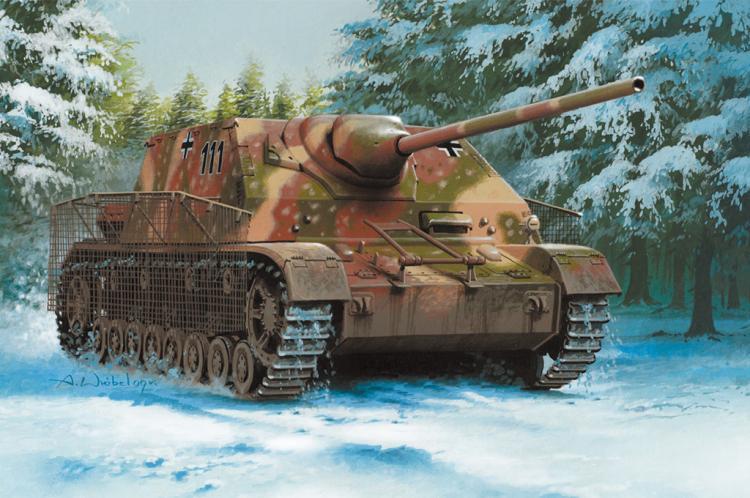 HOBBYBOSS 80133 - 1/35 GERMAN PANZER IV / 70 (A) SDKFZ 162/1
