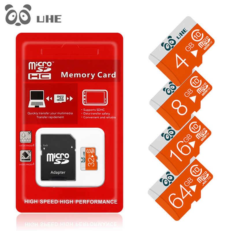 De alta velocidad de la tarjeta Micro SD de memoria tarjetas de memoria GB 16 GB 64G 8 GB 4 GB 32 GB SDHC Class10 Microsd carta para Smartphone Cámara MP3 tableta