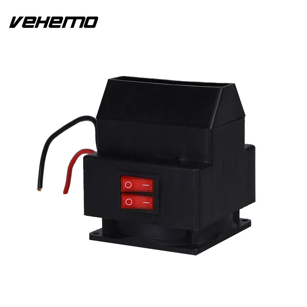Vehemo Dc 12v 150w Car Interior Heater Windshield Defroster Electric Fan Winter