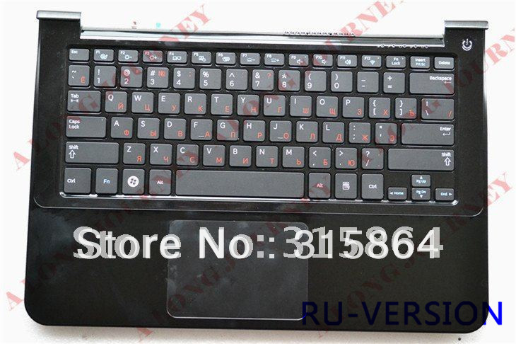 Russian NEW  laptop Keyboard for SAMSUNG 900X3A  with speaker and touchpad -RU/BE/FR/NW/SP/KOREAN  sliver/gold new russian for samsung np700z5a np700z5b keyboard ru laptop keyboard with c shell