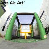 Newly designed Great inflatable rugby field goal, inflatable football field goal challenge combination for outdoor games