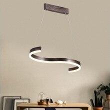 цены Modern led Chandelier Lighting for Kitchen Dining Room Suspension Hanging Pendant Chandeliers for Cofe Bar 85-265V Fixtures
