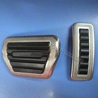 DEE Deluxe Edition! Acessórios Do Carro para Range Rover VOGUE/SPORT 2013 2014 2015 2016 2017 Acelerador Freio Pé resto Pedal Pad