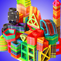 82 pçs tamanho grande designer magnético conjunto de construção modelo de brinquedo de construção blocos de construção magnéticos brinquedos educativos para crianças