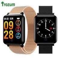 Smart Watch FM19 PLUS Blood Pressure Heart Rate Sports Pulse Meter Wristband Waterproof Bluetooth Bracelet smartwatch PK Q8 Q3