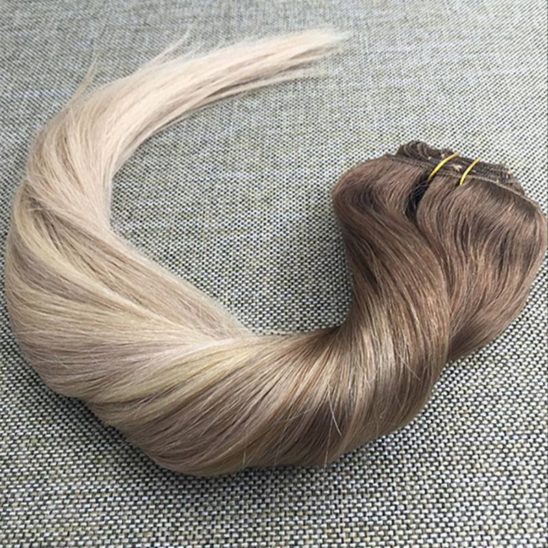 Full shine ombre color 52024 clip in real human hair extensions full shine ombre color 52024 clip in real human hair extensions balayage ombre clip ins extensions dip die color grada 8a on aliexpress alibaba pmusecretfo Choice Image