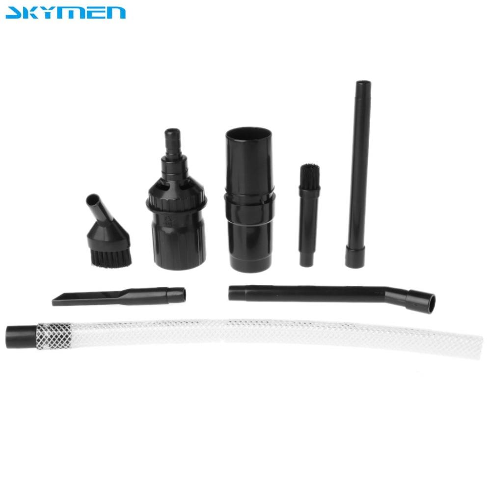 SKYMEN Universal Mini Micro Attachment Tool Kit 8Pcs/Set For Dyson 25mm / 50mm Vacuum Cleaners dyson tool kit