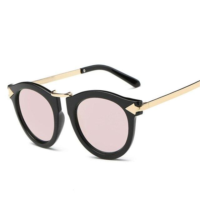 0efbf35015 Classic Women Sunglasses Brand Design 2018 Vintage Arrow Logo Mirror Flat  Outdoor Sport Sun Glasses UV400 Oculos De Sol Feminino
