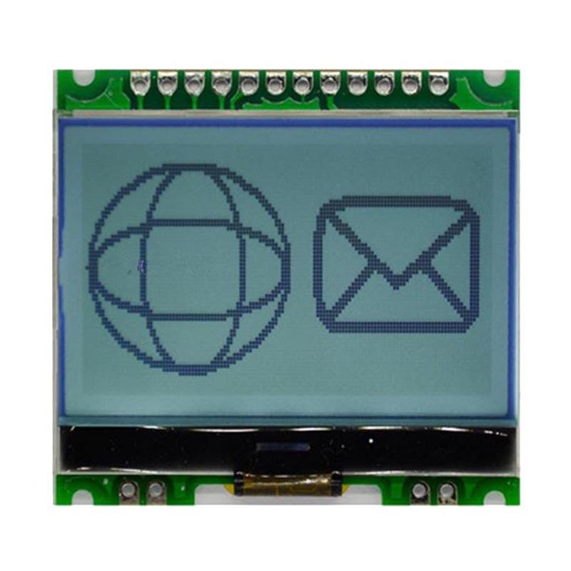 12864 Dot Matrix Module 12864G-086-P LCD Dispaly Module with Backlight COG 5V 12864 Dot Matrix Module 12864G-086-P LCD Dispaly Module with Backlight COG 5V