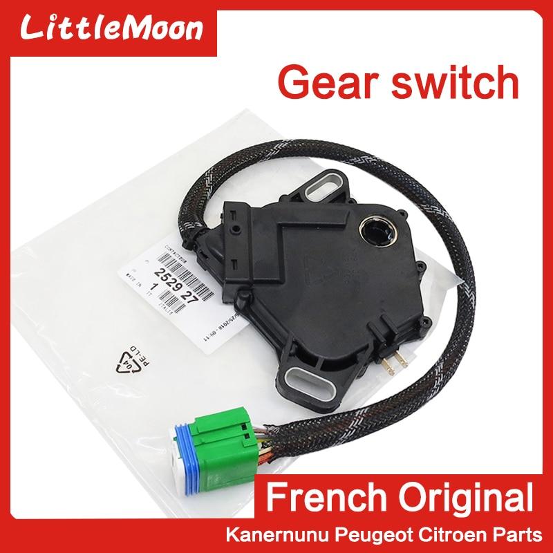 LittleMoon Multifunction Transmission Switch Sensor 252927  For Peugeot 207 307 308 408 Citroen C4 Triumph C5 C-quatre 4AT