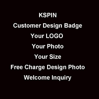Customer Order Own Logo Badge Amit