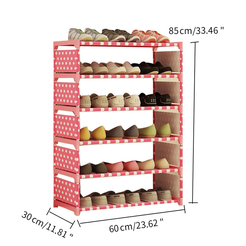 Image 5 - 2019 Household Shoe Cabinets Shoe Rack Hallway Organizer Cabinet Holder Removable Shoe Storage Shelf Living Room FurnitureShoe Cabinets   - AliExpress