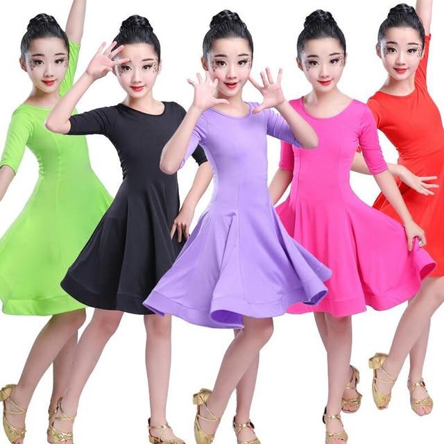 Ragazze Carnevale Jazz dancewear costume Per Bambini Moderna Sala Da Ballo Latino Partito Abito da Ballo vestito da Dancing del Bambino vestiti di usura Per Le Ragazze
