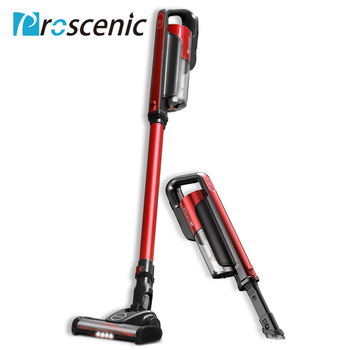 Proscenic I7 Lightweight Cordless Vacuum Cleaner 2 In 1 Wireless Portable Vacuum Cleaner Led Light With Wall Hanging 16000Pa 1