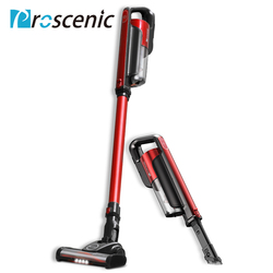 Proscenic I7 Lightweight Cordless Vacuum Cleaner 2 In 1 Wireless Portable Vacuum Cleaner Led Light With Wall Hanging 16000Pa