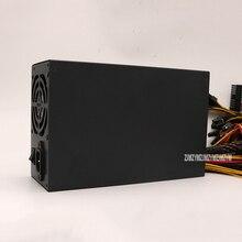 SK2200W 2200 Вт горнодобывающая машина с источником питания 8 видеокарта для всех видов Биткойн горнодобывающая машина PC полный модуль Выход