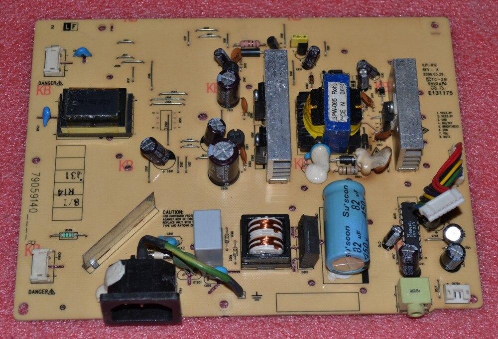 Free Shipping>Original   AL1516 Patriot Power Board ILPI-012 490591400100R-Original 100% Tested Working free shipping s2031 power board 492001400100r ilpi 182 pressure plate hw191apb original 100% tested working