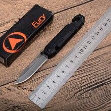 цена TOP folding knife 7cr13mov Blade aluminum handle outdoor camping hunting knife Survival Tactical pocket fruit Knives EDC tools онлайн в 2017 году