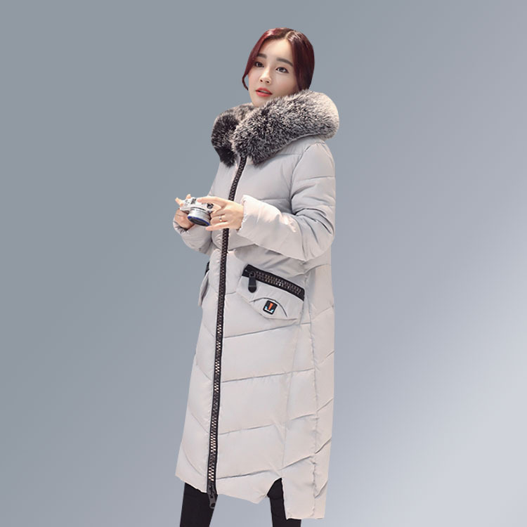 Фото Brand Maternity Clothes Winter Long Jackets 90% White Duck Down Coat Girls Loose Pregnant Woman Ladies Jacket Parka Fox Fur Hood