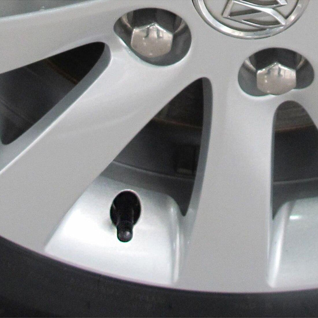 Dewtreetali Neue Sensor Ventil Stem 4Pcs TPMS Tire Pressure Monitoring System Anti-explosion Snap In Reifen Ventil Vorbauten snap