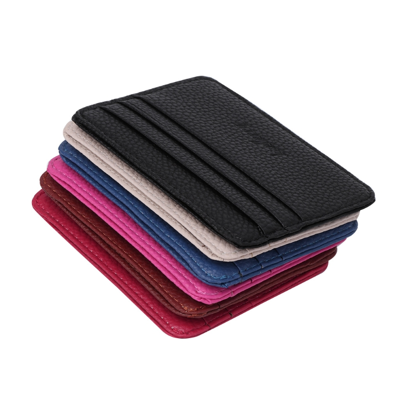 1PC Men 39 s Business Pocket Slim Thin ID Credit Card Money Holder Wallet in Card amp ID Holders from Luggage amp Bags