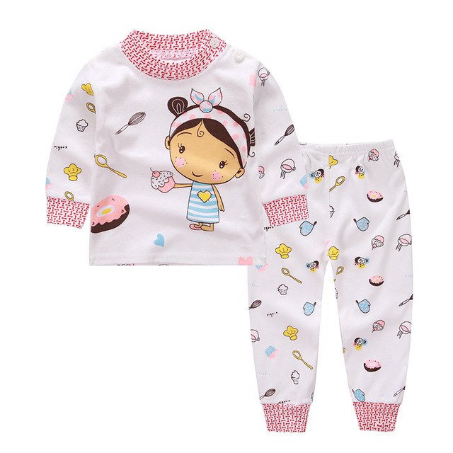 Baby Boy Outfit Costume for Boy Spring Autumn Cartoon Baby Suit Children Clothing Set Toddler Girl Clothes Kids Cotton Cute Sets