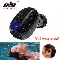 Waterproof Mini Invisible Bluetooth Earphone Micro Wireless Sport headset 4.2 Earbud headset Swimming Micro Headphone Bluetooth
