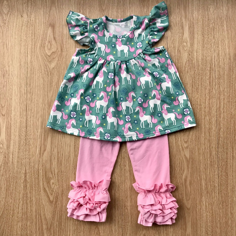 c9470cc2b 2018 boutique girl Spring summer clothing unicon flutter dress with ...