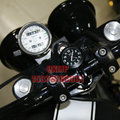 Motorcycle accessories modified handlebar timetable car table luminous watches waterproof rust Free Shipping