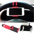 2016 Volante Do Carro Universal Suporte Do Telefone Móvel, suporte mãos livres do carro stand titular para o iphone 4s 5 6 samsung galaxy s6