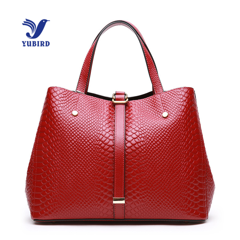 YUBIRD Luxury Women Handbag Large Real Leather Tote Bag Casual Hobos Big Handbags for Women Shoulder Bag 2018 bolso rojo mujer mliizykki lace flower handbags women shoulder bag spring casual hobos tote