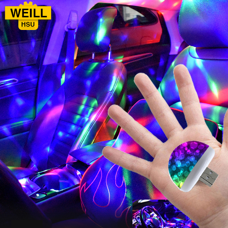 Weill Hsu USB LED Disco Decorative light Mini DJ Laser Stage Lighting Holiday Bar Home Party Wedding Christmas Decoration LightWeill Hsu USB LED Disco Decorative light Mini DJ Laser Stage Lighting Holiday Bar Home Party Wedding Christmas Decoration Light