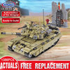 XINGBAO 06015 Genuine 1386Pcs Military Series The Scorpio Tiger Tank Set Building Blocks Bricks Toys Educational