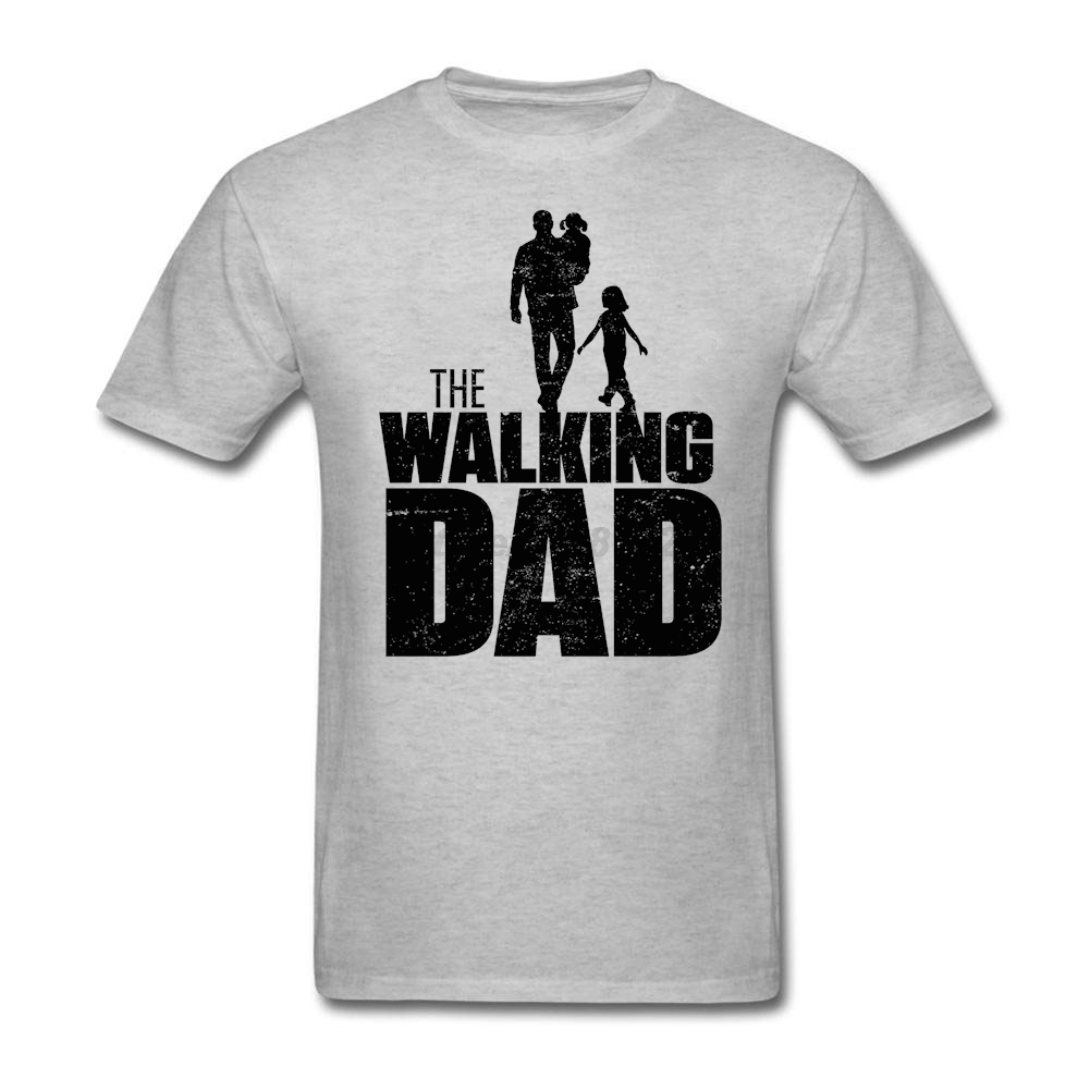 2017 men the walking dad t shirt high quality shirt T shirts for dad