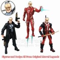 Custom 6 Stan Lee 1/12 1:12 Action Figure Orignal Marvel Legends Punisher IronMan Deadpool Avengers Movie Comic Collection Toys