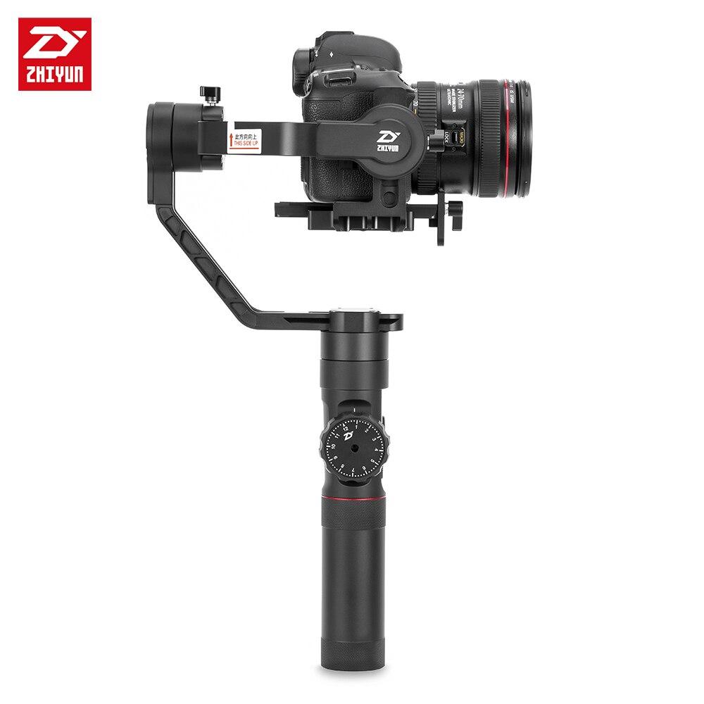 ZHIYUN Crane 2 3-Axis Handheld Gimbal Video Stabilizer with Servo Follow Focus for Canon 5D2 5D3 5D4 GH3 GH4 Sony DSLR Camera 11