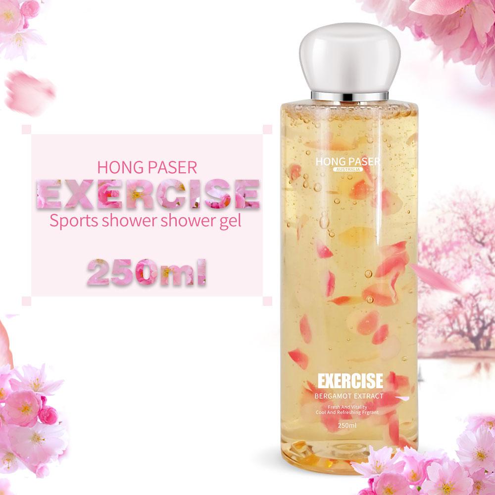 HONG PASER Fragrant Deep Cleaning Moisturizing Flower Petals Whitening Body Wash