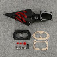 Spike Air Cleaner Intake Filter For Kawasaki Vulcan 1500 Mean Streak 02 09 Black Chrome Two Color Optional