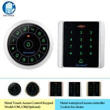 Access-Controller-Reader Rfid Keypad Obo Hands Digital-Keyboard Touch Waterproof 125khz