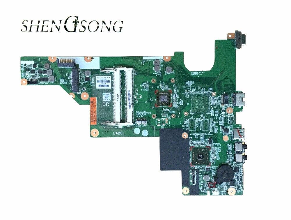Livraison Gratuite carte mère D'ordinateur Portable pour HP COMPAQ CQ43 CQ57 435 635 carte mère P/N 657324-001 qualité marchandises. entièrement testé ok