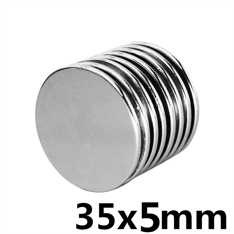 25pcs Small Disc Cylinder Neodymium Magnets 8 x 1 mm Round Rare Earth Neo N50