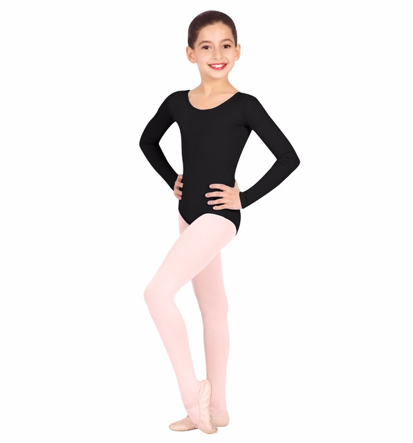 15d7ead0ba08 Kids Long Sleeve Leotards for Girls Ballet Dance Leotards Toddler ...