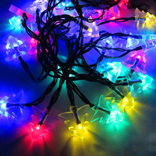 Limit buy Waterproof 4.8M 20LEDs Solar Powered Chrismas Tree String Light for Xmas Party