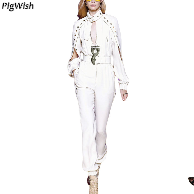 2018 High Quality 2 Piece Set Women Fashion Two Piece Set Top And Pants Pure White Ladies Two Piece Set clothes suit south shore 3 piece bookcase set in pure white