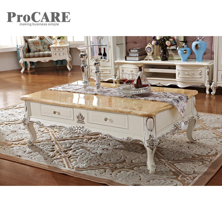 Aliexpress.com : Buy Luxury Antique Gold Leaf Wooden Center Table Coffee Table  Designs 8009 From Reliable Living Room Sets Suppliers On Procare Official  ...