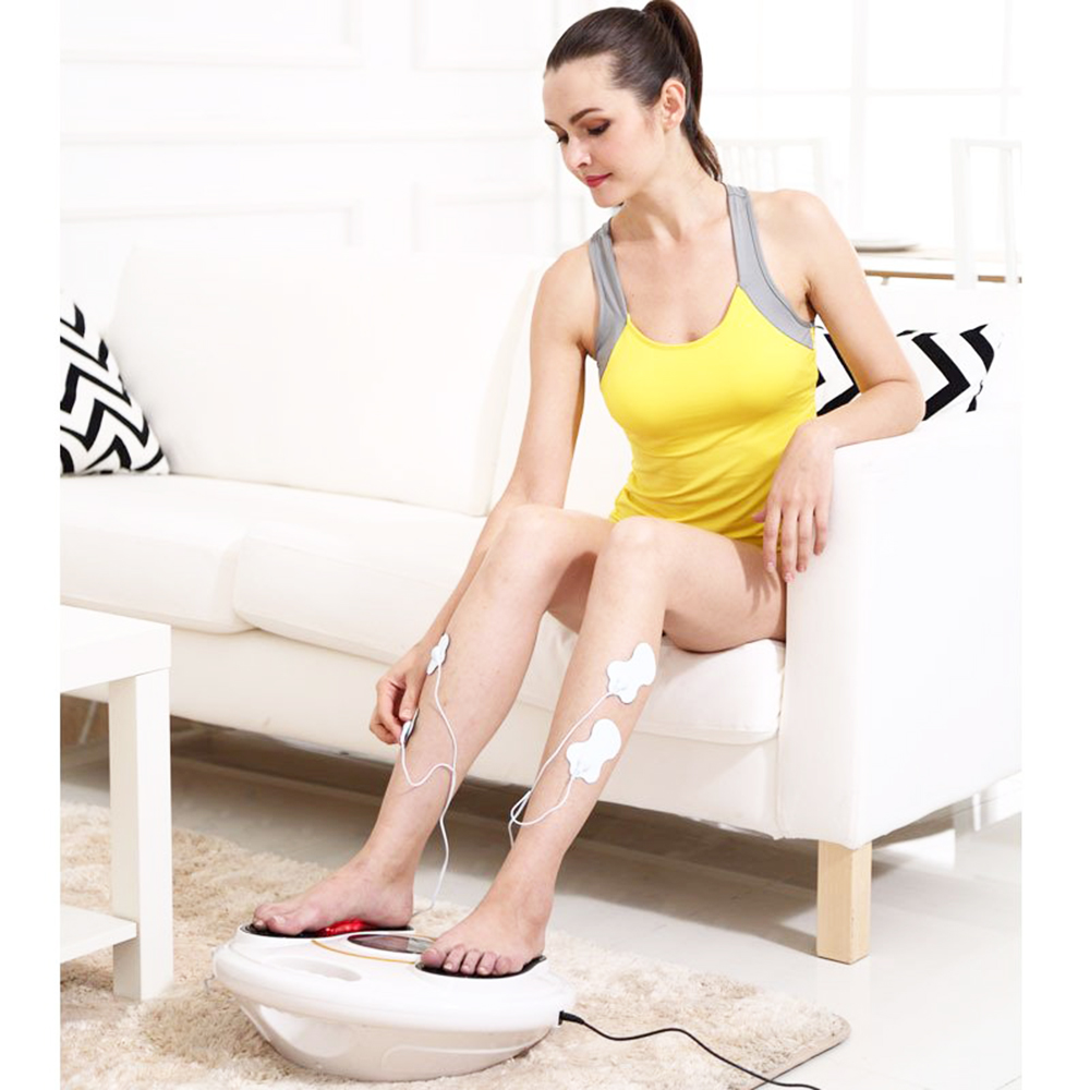 Far infrared heating foot massage machine leg massager promotes blood circulation meridian physiotherapy to relieve fatigue