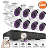 ANRAN P2P Plug And Play 1080P HD H 264 8CH POE NVR 36 IR Day Night